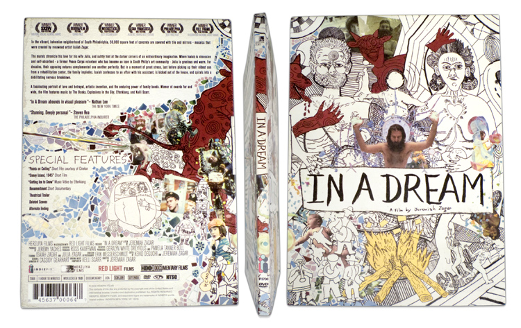 In A Dream - DVD Packaging, exterior