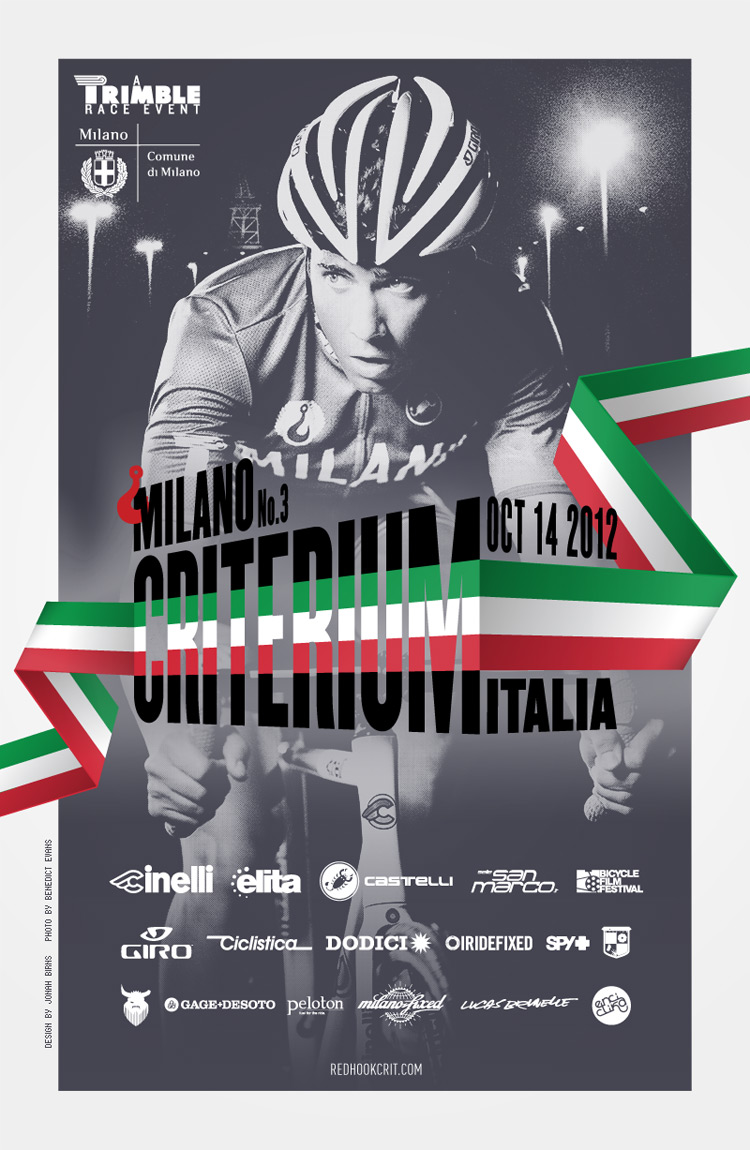 Red Hook Crit - Milano no.3 poster
