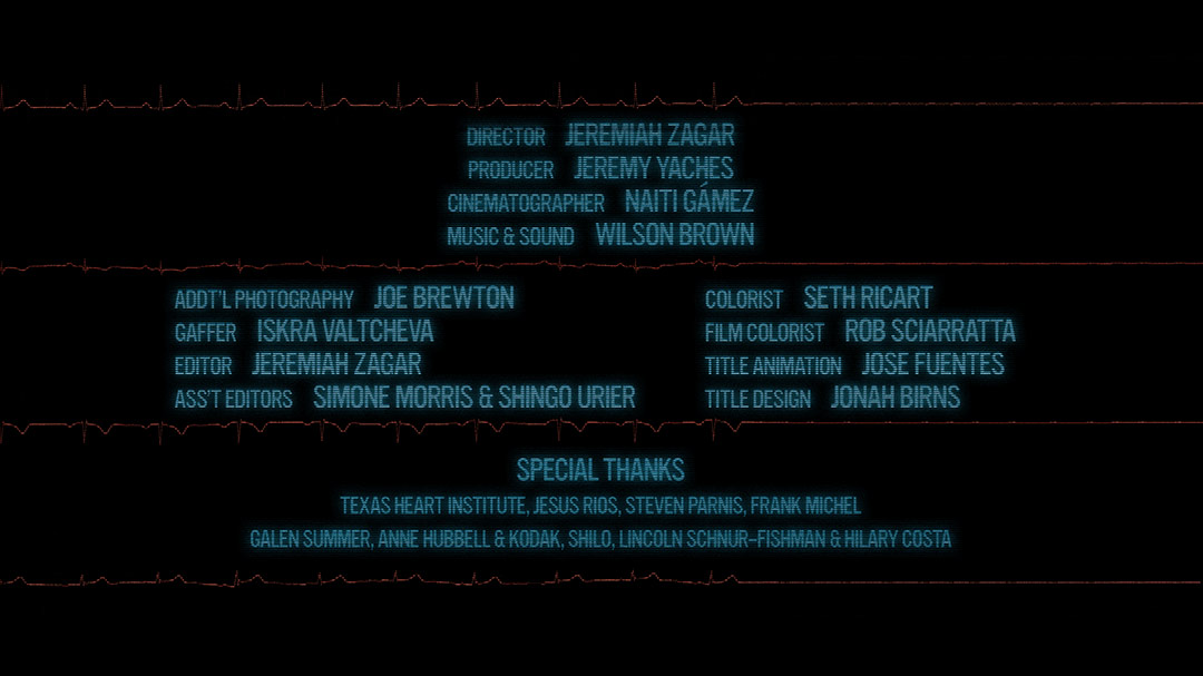 Heart Stop Beating - End Credits