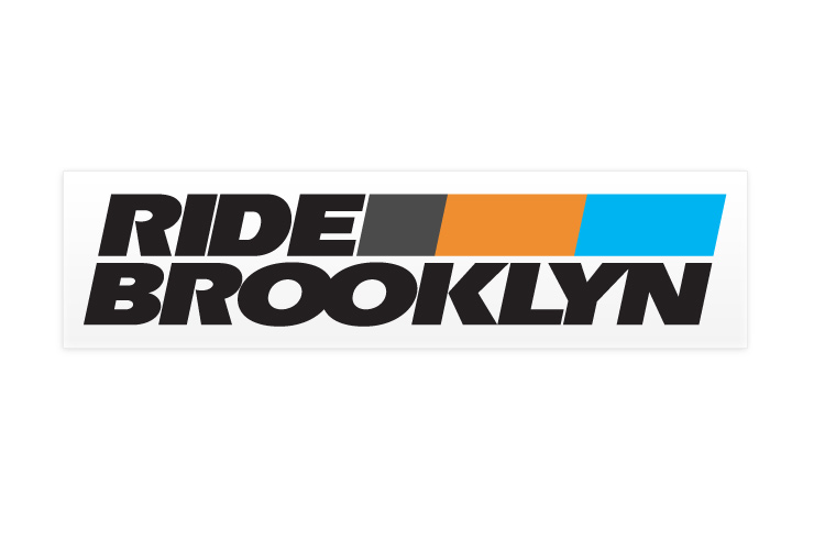 Ride Brooklyn - Sticker