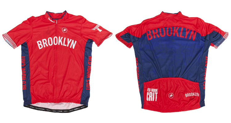 Red Hook Crit - Castelli Jersey, Brooklyn no.5