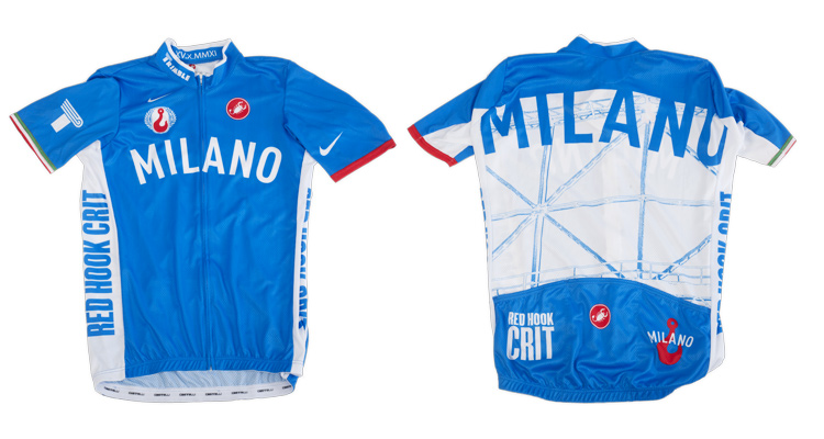 Red Hook Crit - Castelli Winner's Jersey, Milano no.2
