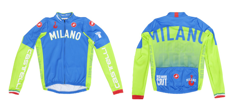 Red Hook Crit - Castelli Thermal Jersey, Milano no.3