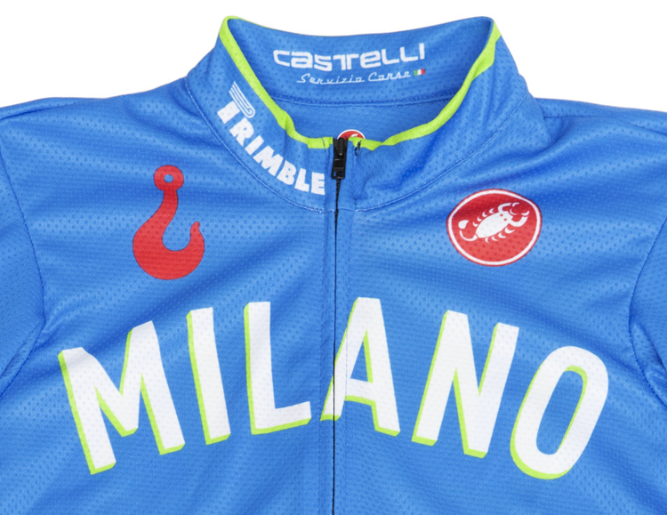 Red Hook Crit - Castelli Jersey, Milano no.3 detail
