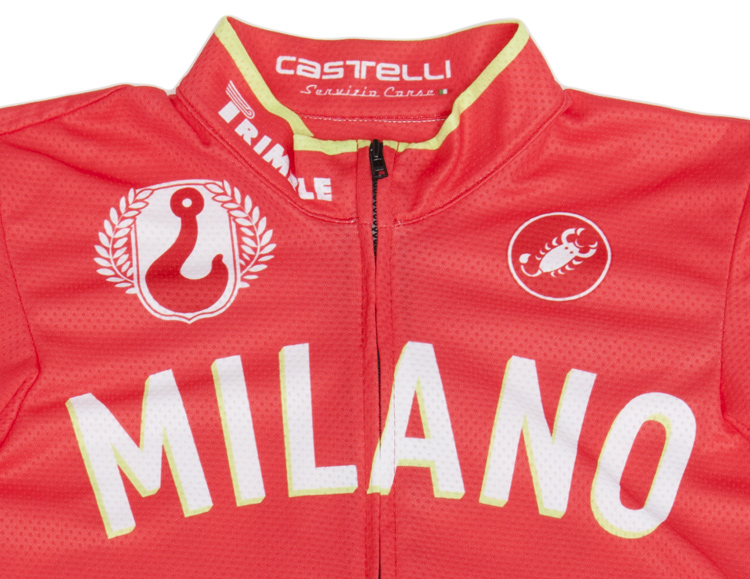 Red Hook Crit - Castelli Winner's Jersey, Milano no.3 detail
