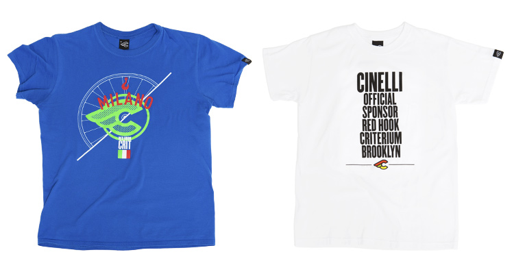 Red Hook Crit - Cinelli T-Shirt, Milano no.3 & Brooklyn no.5